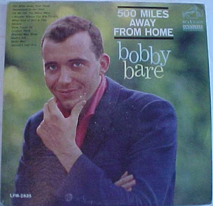 Bobby Bare 500 Miles Away From Home cover art