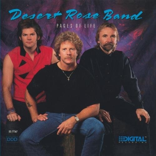 Desert Rose Band Pages of Life cover art