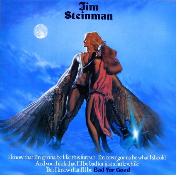 Jim Steinman Bad for Good cover art