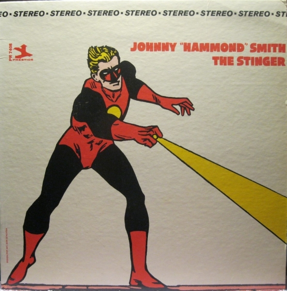 "Johnny ""Hammond"" Smith The Stinger cover art"