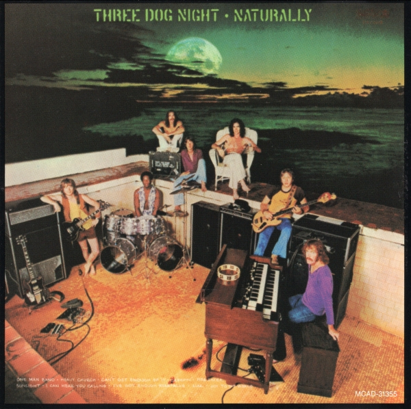 Three Dog Night Naturally cover art