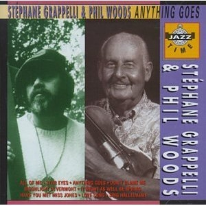 Stéphane Grappelli Anything Goes Cover Art