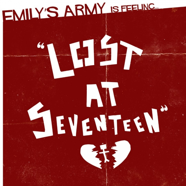 Emily's Army Lost at Seventeen Cover Art