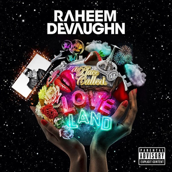 Raheem DeVaughn A Place Called Love Land cover art