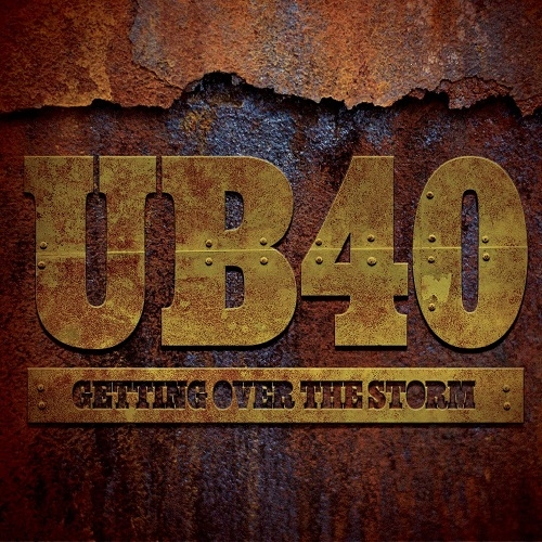 UB40 Getting Over the Storm Cover Art