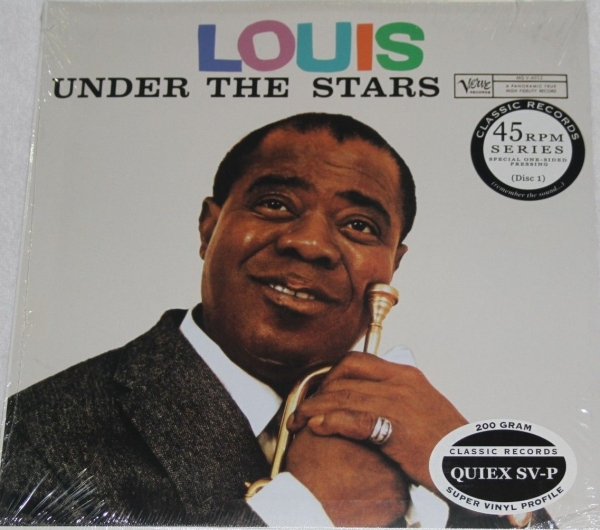 Louis Armstrong Under the Stars cover art