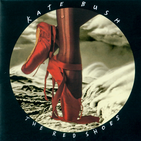Kate Bush The Red Shoes cover art