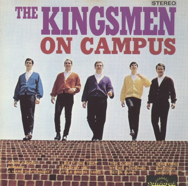The Kingsmen On Campus cover art