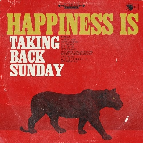 Taking Back Sunday Happiness Is cover art