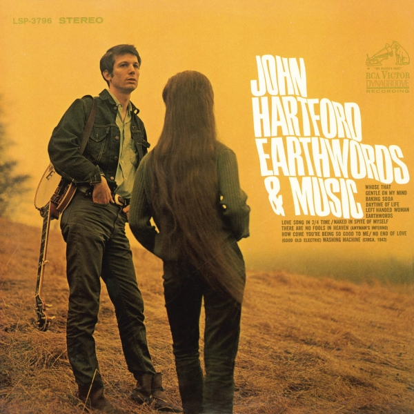 John Hartford Earthwords & Music cover art