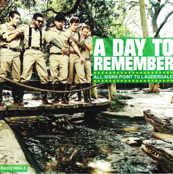 A Day to Remember All Signs Point to Lauderdale Cover Art
