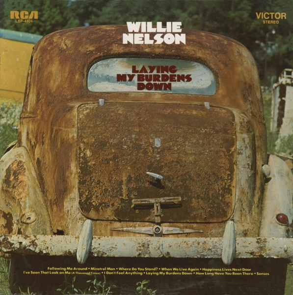 Willie Nelson Laying My Burdens Down cover art