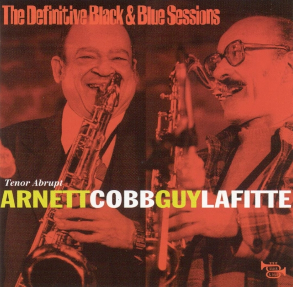 Guy Lafitte The Definitive Black and Blue Sessions: Tenor Abrupt cover art