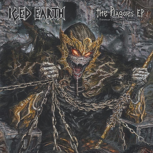Iced Earth The Plagues EP Cover Art