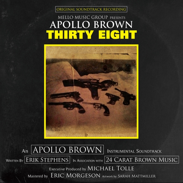 Apollo Brown Thirty Eight cover art