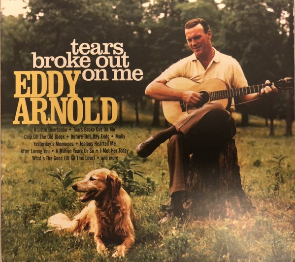 Eddy Arnold Tears Broke Out on Me cover art