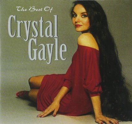 Crystal Gayle The Best of Crystal Gayle cover art