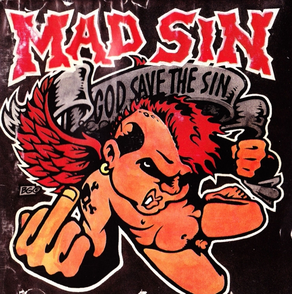 Mad Sin God Save the Sin cover art