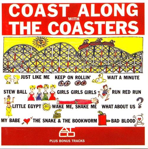 The Coasters Coast Along With The Coasters cover art
