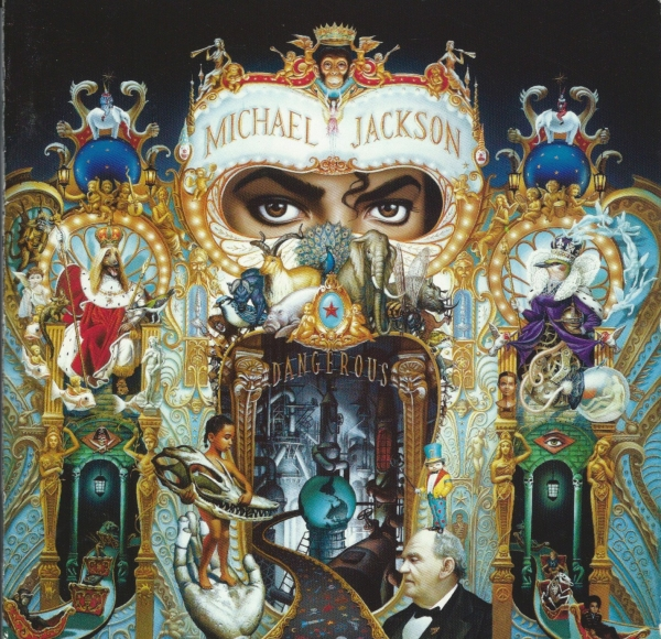 Michael Jackson Dangerous cover art