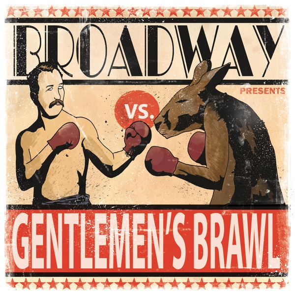Broadway Gentlemen's Brawl cover art
