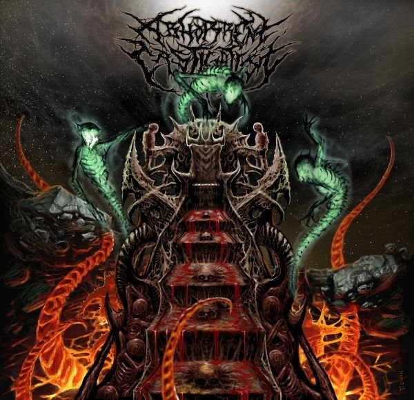 Abhorrent Castigation Throne of Existential Abandonment cover art