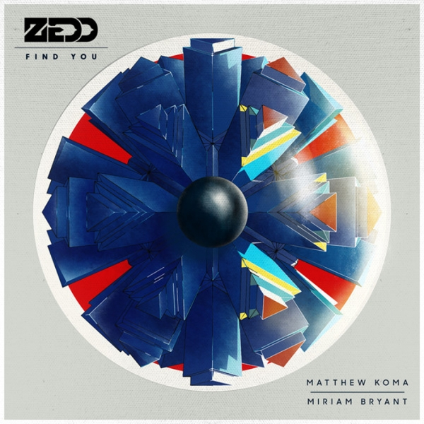 Zedd feat. Matthew Koma & Miriam Bryant Find You Cover Art