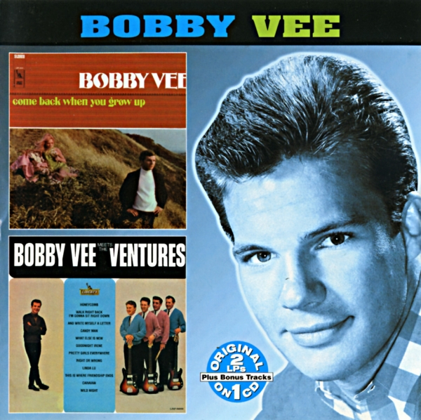 The Ventures Come Back When You Grow Up / Bobby Vee Meets The Ventures cover art