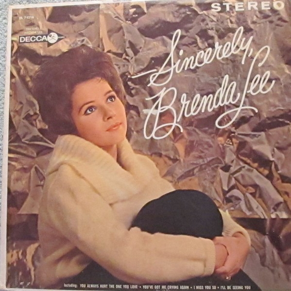 Brenda Lee Sincerely cover art
