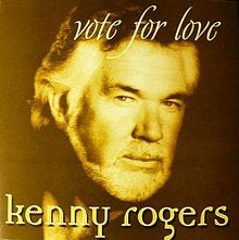 Kenny Rogers Vote for Love cover art