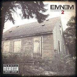Eminem The Marshall Mathers LP 2 cover art