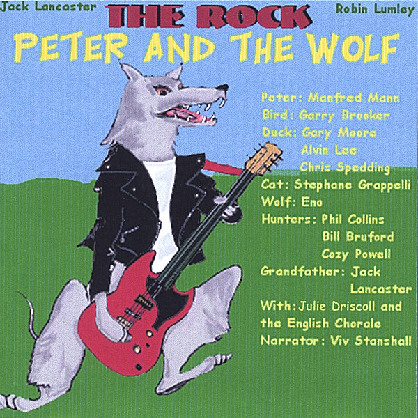 Jack Lancaster & Robin Lumley Peter and the Wolf Cover Art