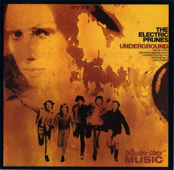 The Electric Prunes Underground cover art