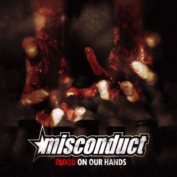 Misconduct Blood on Our Hands cover art
