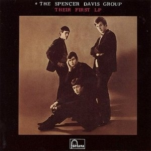 The Spencer Davis Group Their First LP cover art