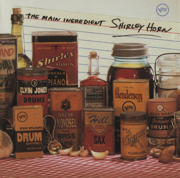 Shirley Horn The Main Ingredient Cover Art