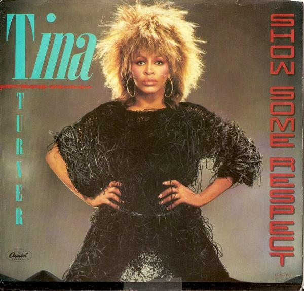 Tina Turner Show Some Respect cover art