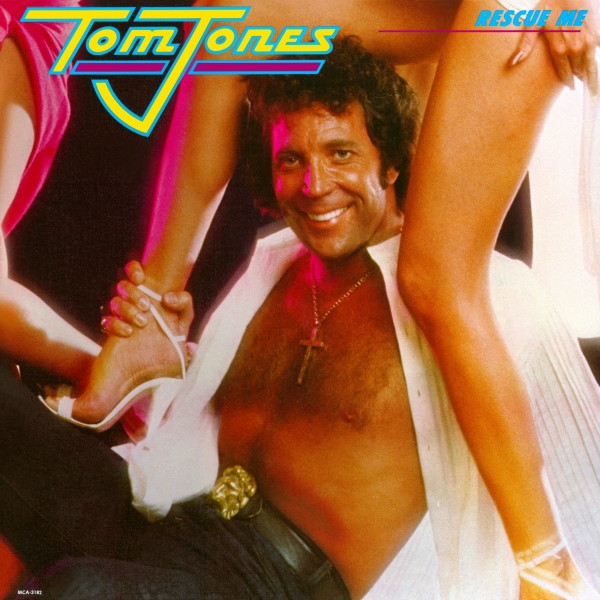 Tom Jones Rescue Me cover art