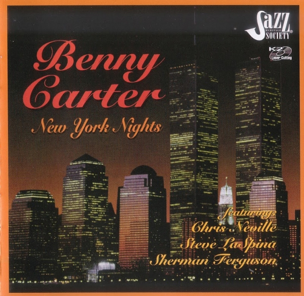 Benny Carter New York Nights cover art