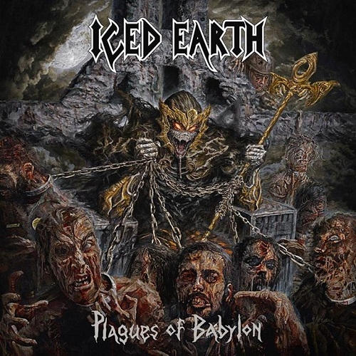 Iced Earth Plagues of Babylon cover art