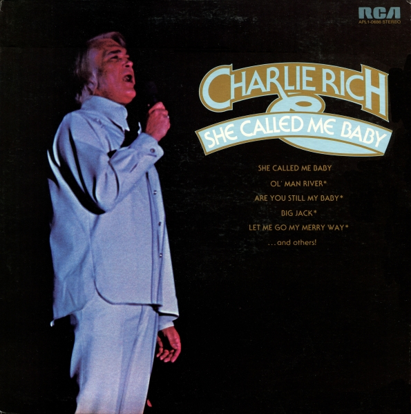 Charlie Rich She Called Me Baby cover art