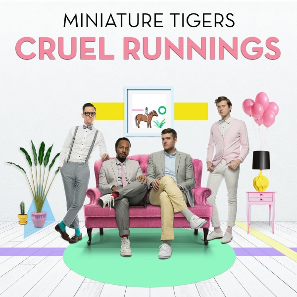 Miniature Tigers Cruel Runnings cover art