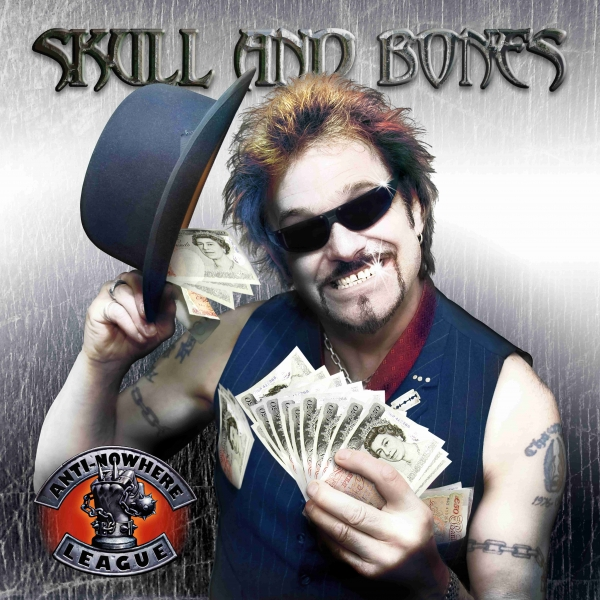 Anti-Nowhere League Skull and Bones Cover Art