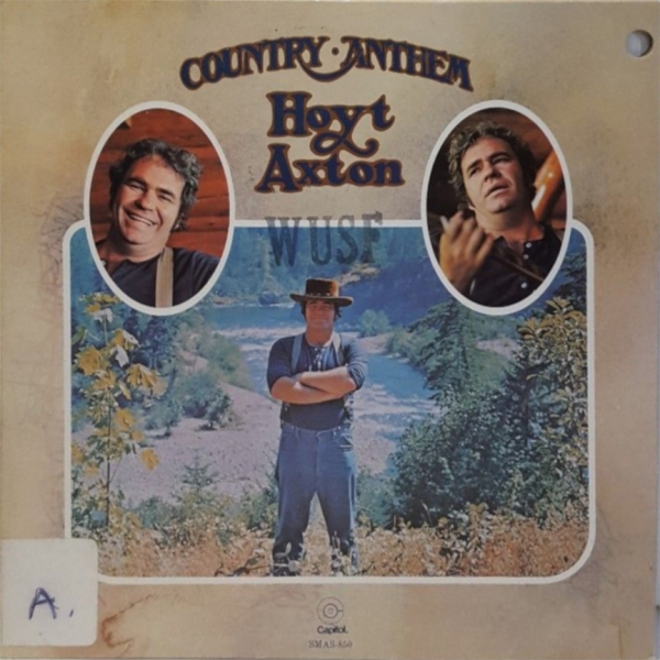 Hoyt Axton Country Anthem Cover Art