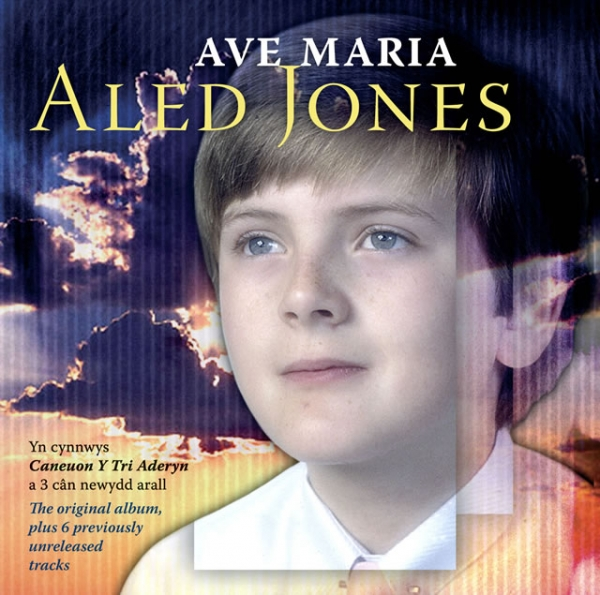 Aled Jones Ave Maria cover art