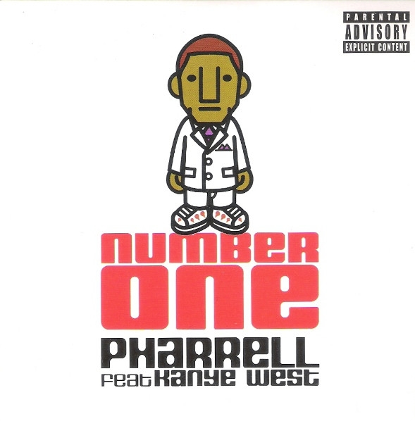 Pharrell feat. Kanye West Number One Cover Art