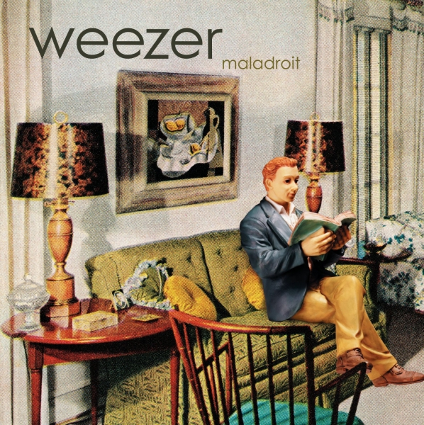 Weezer Maladroit cover art