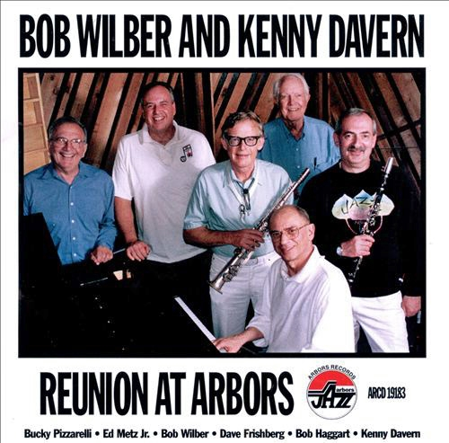 Kenny Davern Reunion at Arbors cover art