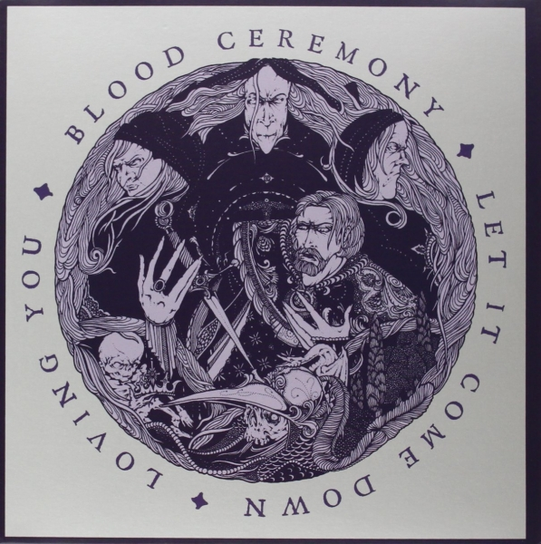 Blood Ceremony Let It Come Down / Loving You Cover Art