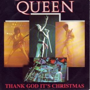 Queen Thank God It's Christmas cover art
